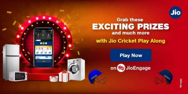Jio Cricket Play Along - Answer & win plenty of prizes fro home in this IPL season_TechnoSports.co.in
