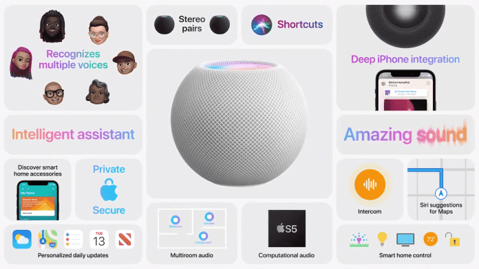Apple HomePod mini launched at $99