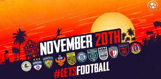 HERO ISL Fixture is out! First East Bengal & Mohun Bagan derby on 27th November