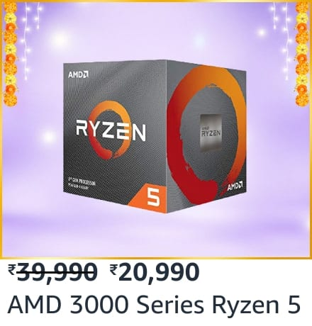 Get AMD Ryzen 5 3600XT and RTX 2070 Super combo at ₹ 60k only on Amazon Great Indian Festival