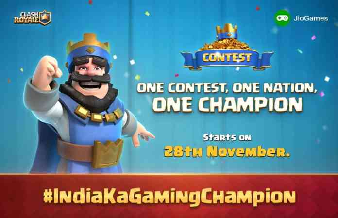 Clash Royale partners with Jio for a 27-day Gaming Tournament