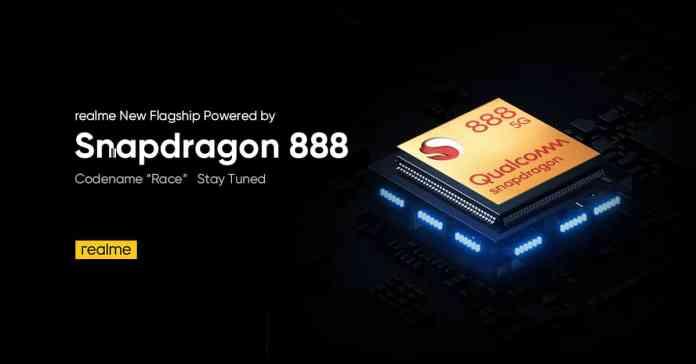Qualcomm Snapdragon 888 powered Realme smartphone codenamed