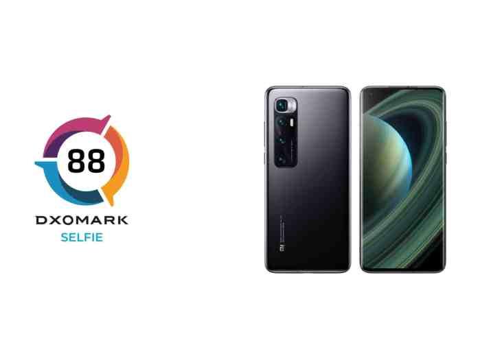 Mi 10 Ultra scores only 88 points in selfie ranking 22nd in DXOMARK