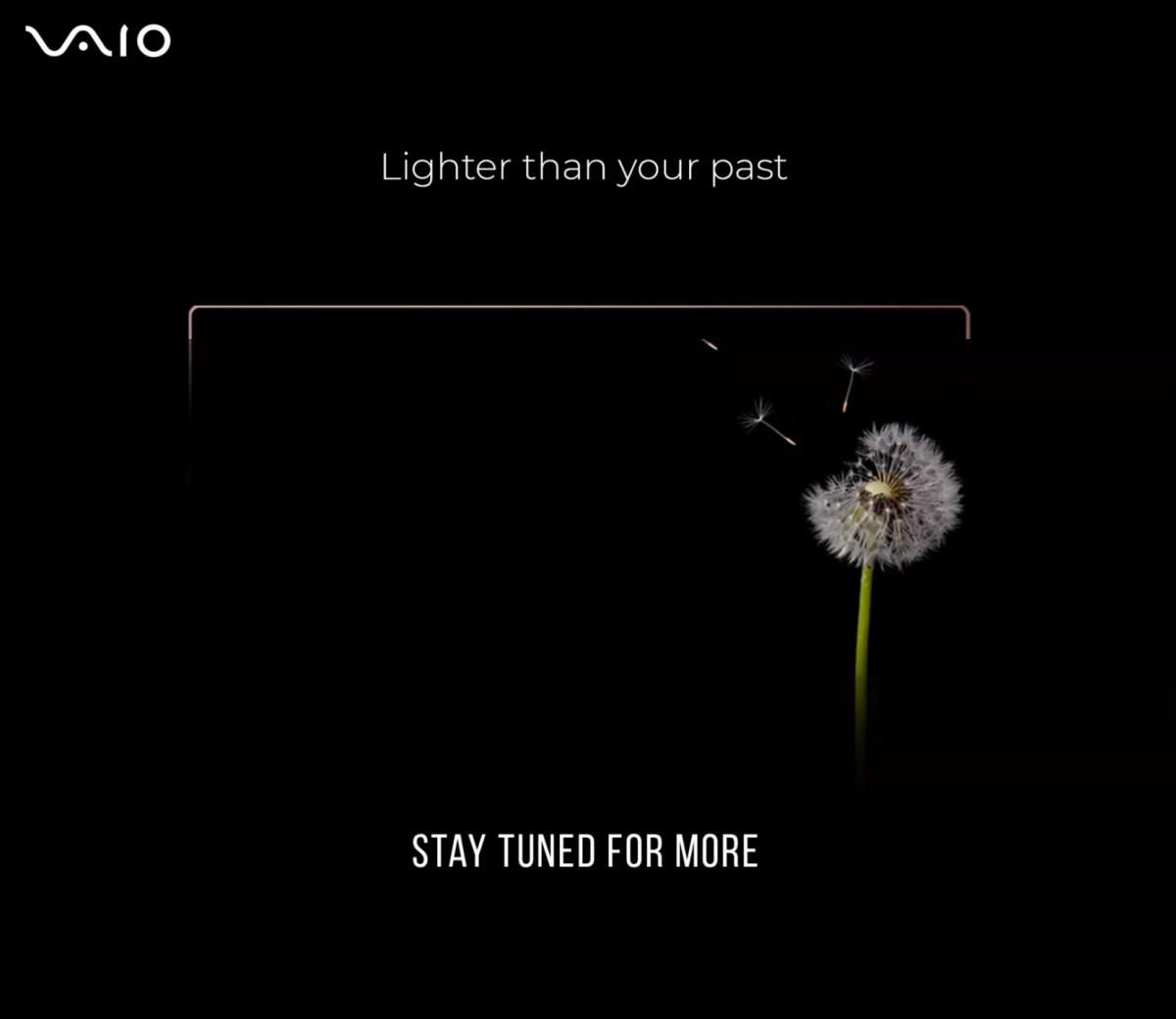 VAIO laptops to return in the market, Flipkart teases its video - TechnoSports
