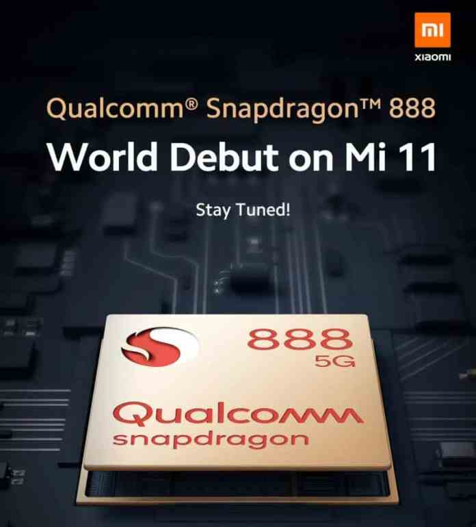 Xiaomi Mi 11 to launch with Snapdragon 888 confirmed by Lei Jun