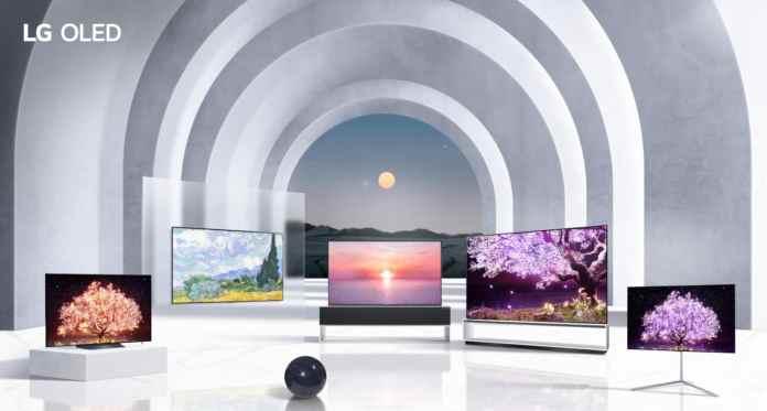 LG reveals new flagship TV line at CES 2021