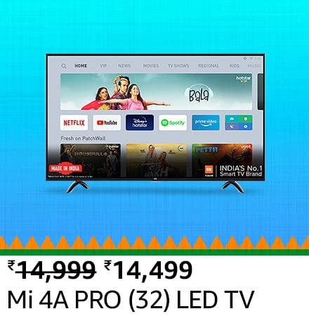 All the TV & Appliances deals on Amazon Great Republic Day Sale