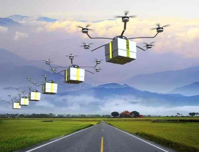 Verizon, UPS, and Skyward collaboratively launch delivery drones at CES 2021___TechnoSports.co.in