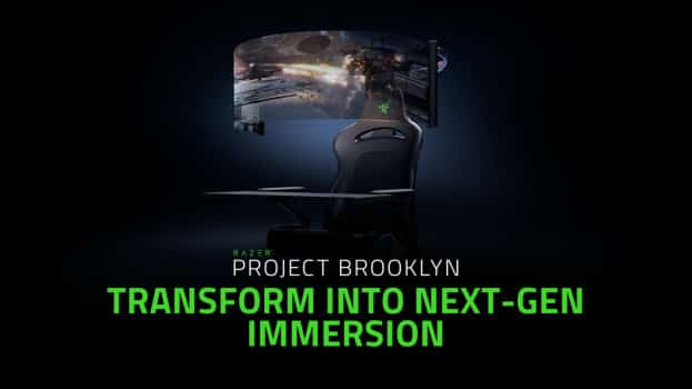 CES 2021: Razer unveils Project Brooklyn Gaming Chair concept