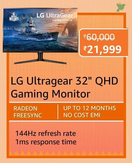 Blockbuster deals on Monitors on Amazon Great Republic Day Sale