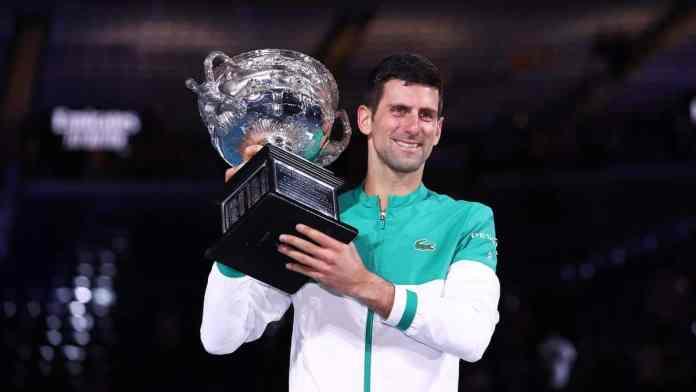 Novak Djokovic won a record 9th Australian Open.