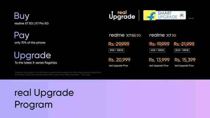 realme partners with Flipkart to bring the real Upgrade Program