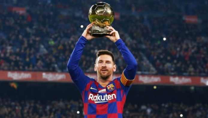 Lionel Messi becomes the Player of the Decade by IFFHS