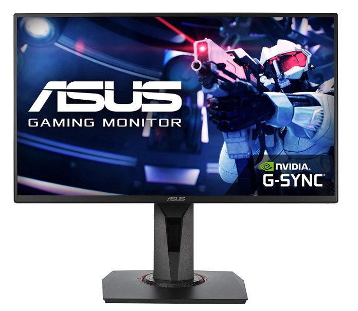 ASUS 24.5-inch FHD Gaming Monitor with 165 Hz refresh rate & Nvidia G-SYNC available for only ₹ 19,499