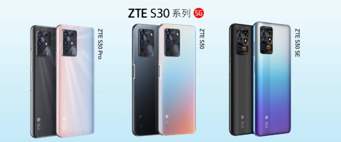 ZTE launches S30, S30 SE, and S30 Pro in China