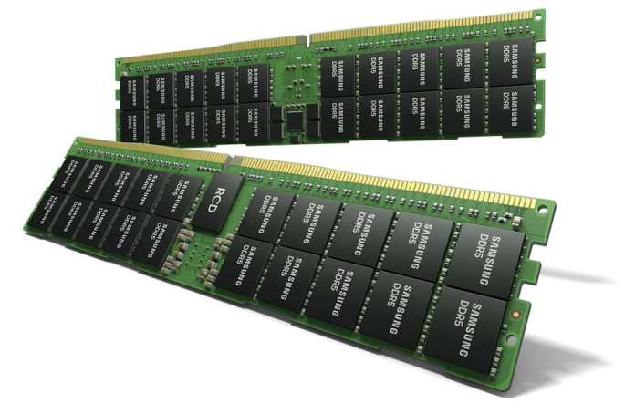 Samsung launches the world's first HKMG process DDR5 memory