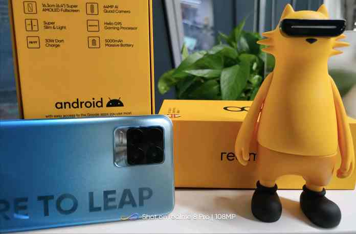 Realme 8 Pro official box reveals key specifications in Madhav's Tweet