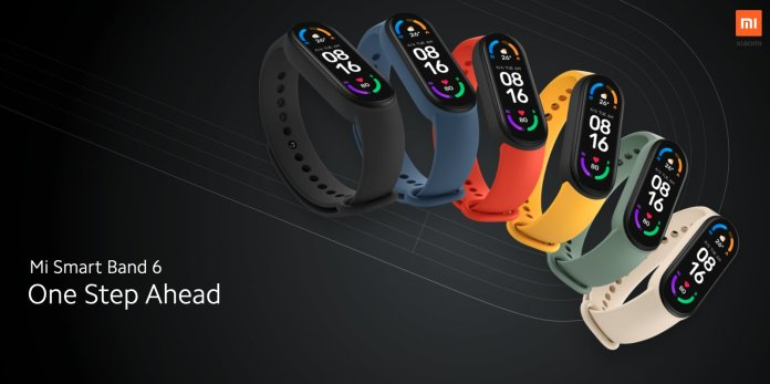 Mi Smart Band 6 with a Full-screen display launched Globally