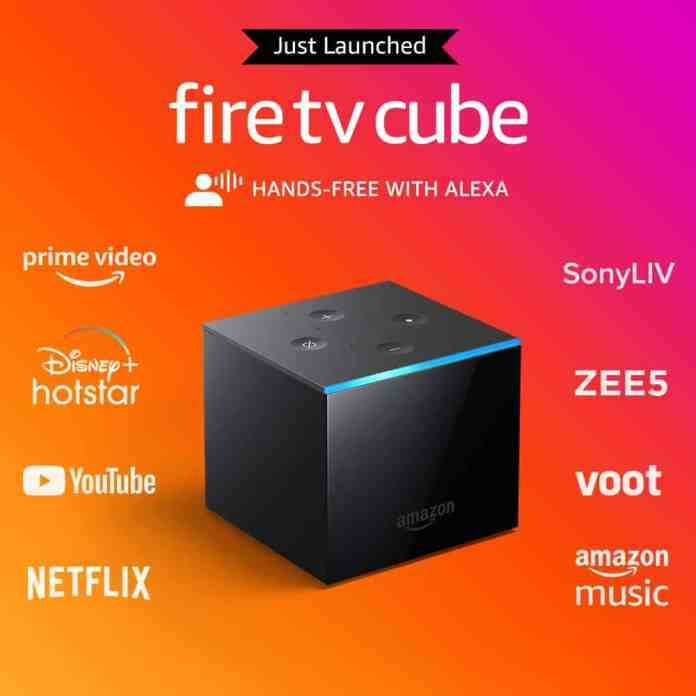Amazon Fire TV Cube launches in India, allows hands-free 4K UHD streaming at Rs.12,999_TechnoSports.co.in