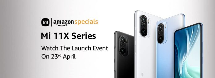 Mi 11X series landing page is live in Amazon India, launching on April 23