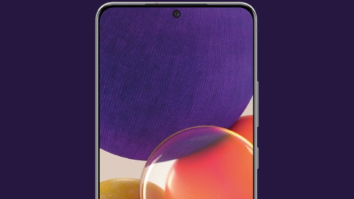 Samsung Galaxy A82 listed on Google Play Console