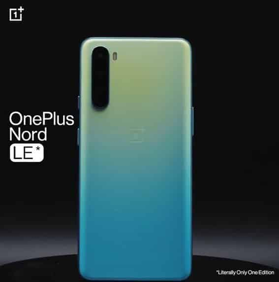OnePlus Nord LE (Literally Only One Edition) announced