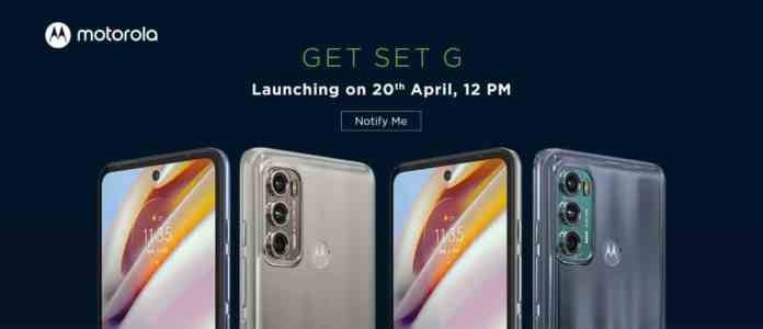 Moto G60 and Moto G40 Fusion price tipped ahead of April 20 launch