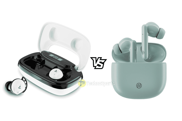 boAt Airdopes 621 vs Noise Buds Play_TechnoSports.co.in