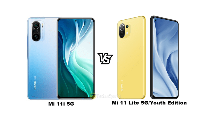 Mi 11i 5G vs Mi 11 Lite 5G/Youth Edition: The Difference you need to know