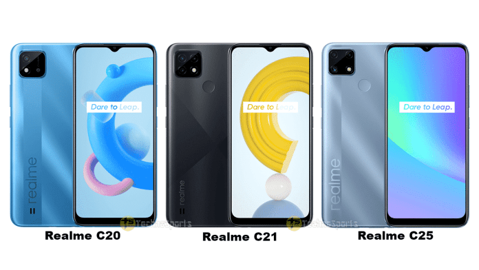 Realme C20, C21, and C25 launched in India: All you need to know