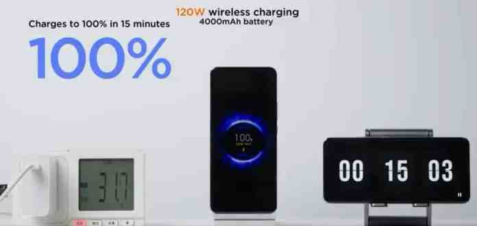 Xiaomi announced 200W Wired Charging and 120W Wireless Charging