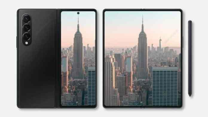 Samsung Galaxy Z Fold 3 may have an under-display camera inside