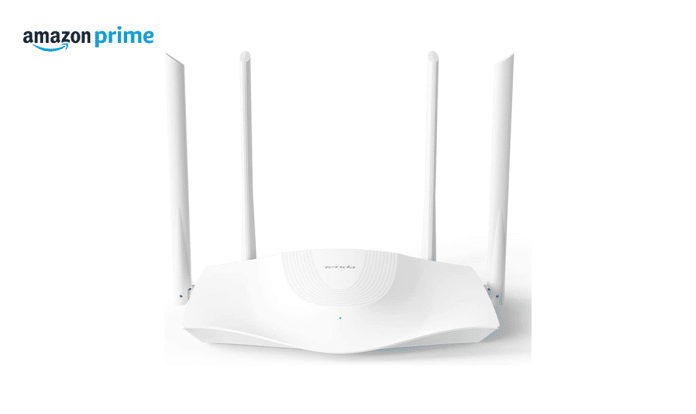 Save $45 and an extra 5% on the Tenda Wi-Fi 6 Router AX1800 Smart WiFi Router (RX3) in Amazon Prime Day (US)