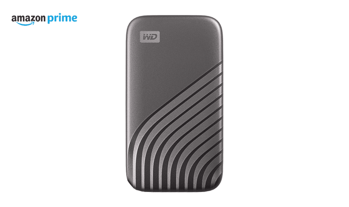 Amazon Prime Day (US): Save $100 on WD 4TB My Passport External SSD