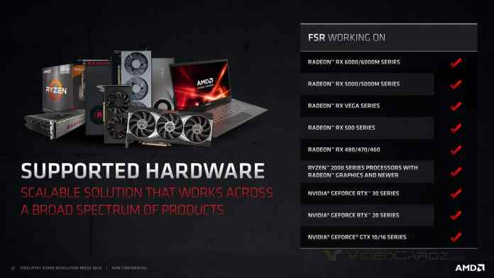 AMD FidelityFX Super Resolution launched: Promises to bring High-Quality, High-Resolution Experiences to Gamers Worldwide