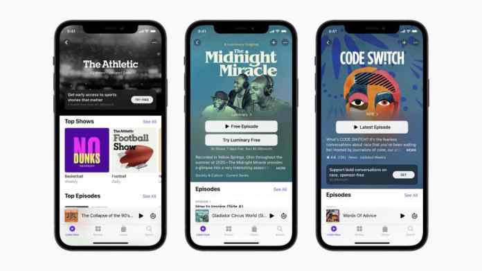 Apple Launches Podcast Subscriptions to Support Creators