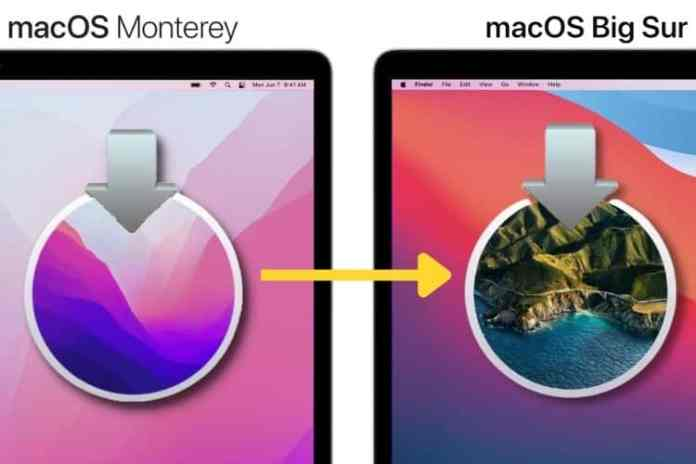 How to move back to macOS Big Sur from macOS 12 Monterey?