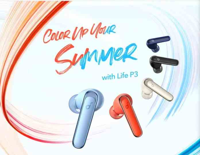 Anker Soundcore Life P3 TWS Earbuds with ANC released