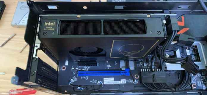 Intel's NUC 11 Extreme 'Beast Canyon' with Core i9-11900KB spotted online