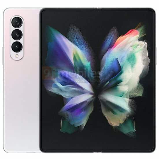 Galaxy Z Fold 3 design leaked, may come with a triple rear camera setup