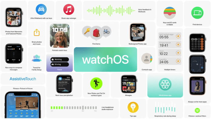 Apple's new watchOS 8 brings a new interface and support for iOS 15 features