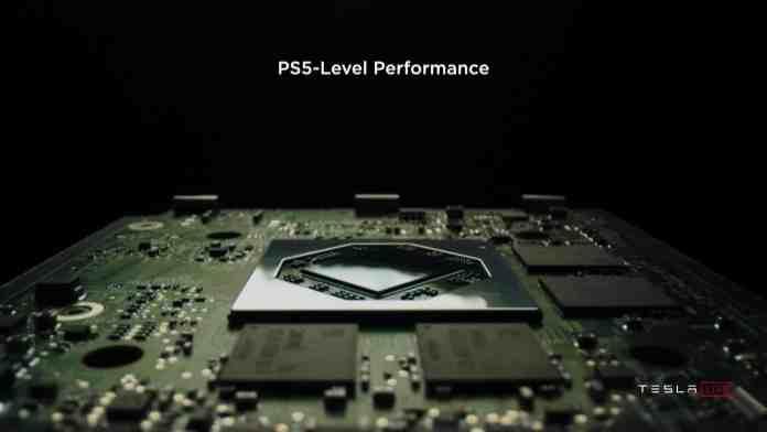Elon Musk demos playing Cyberpunk 2077 on Tesla's new infotainment system with AMD Navi 23 GPU
