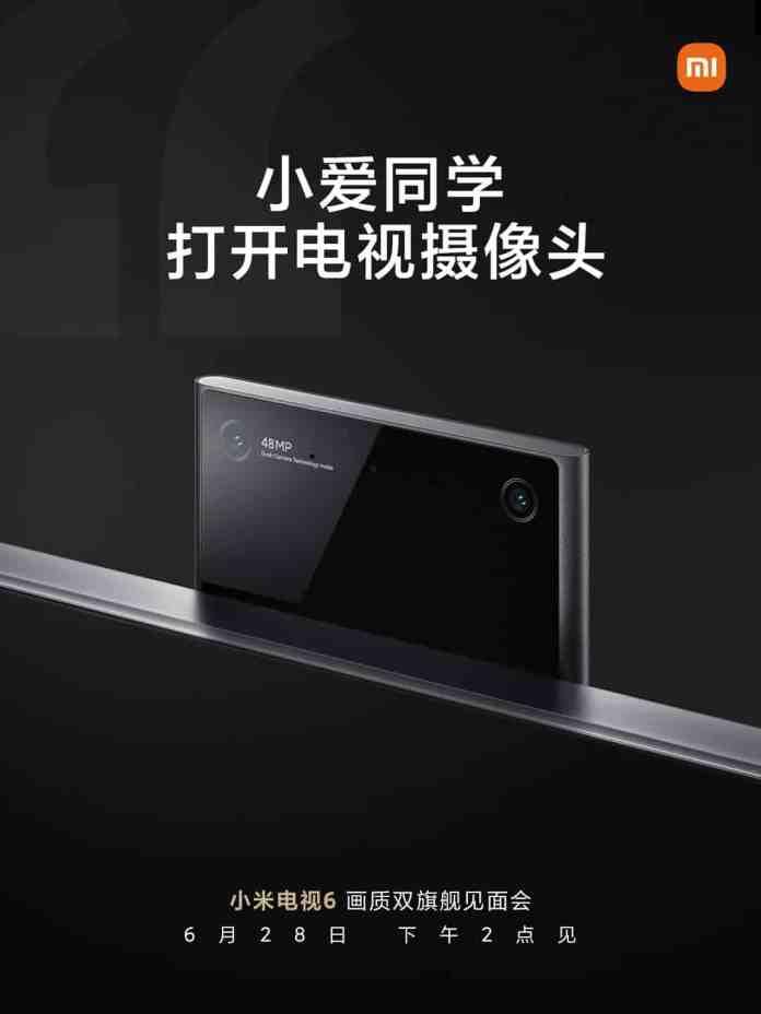 Xiaomi Mi TV 6 will come with 48MP dual cameras