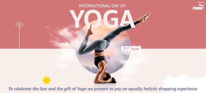 """Celebrate International Yoga Day with a specially curated """"Yoga Store"""" on Amazon India"""