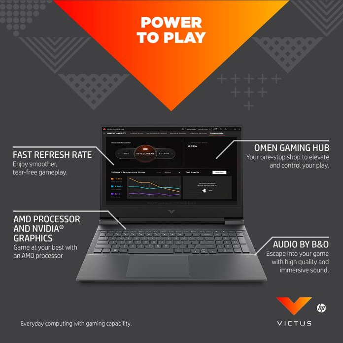 HP Victus 16 gaming laptop with up to Ryzen 7 5800H & RTX 3060 now available on Amazon