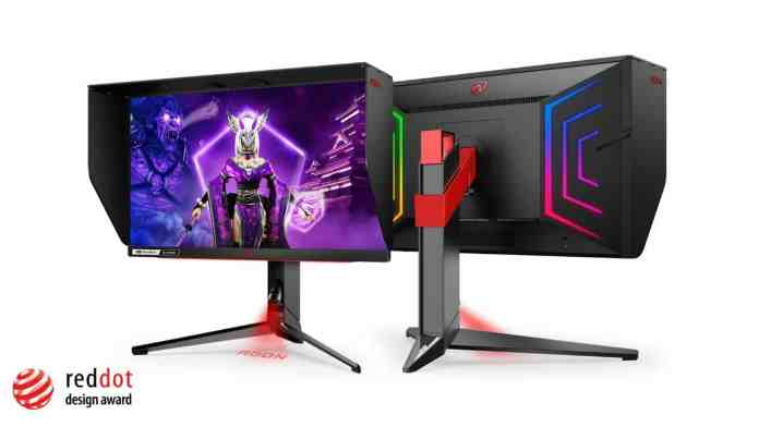 AGON PRO AG254FG is here with a 360 Hz refresh rate and Nvidia Reflex support