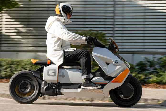 Meet BMW's futuristic CE 04 electric scooter