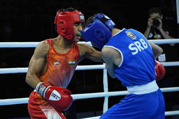 Deepika stuns world champion Alfiya at 4th Youth National Boxing Championships