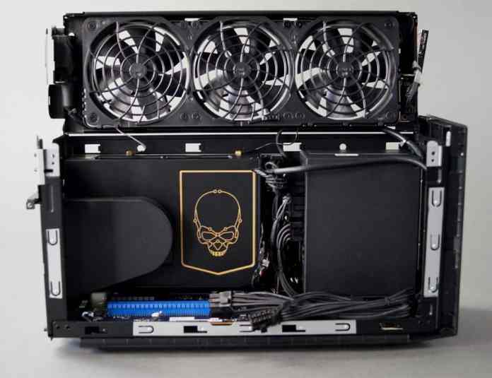 Intel's disassembled NUC 11 Extreme PC looks dope but has heat issues