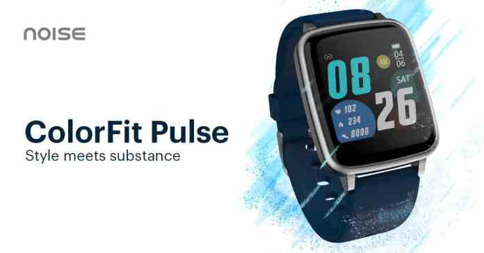 Noise ColorFit Pulse Launches_TechnoSports.co.in